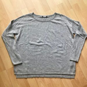 GREY 6% Alpaca Sweater